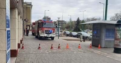 Emeleti lakáshoz hívták a tűzoltókat