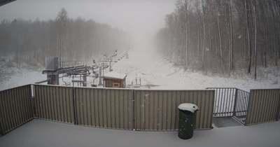 Brutális a hóhelyzet a Bakonyban, megállíthatatlanul havazik – Videó