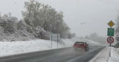 A Bakonyban még havazhat, Veszprém megye többi részén inkább esős szerdára számíthatunk