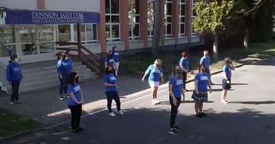 A nagykanizsai egyetemisták is táncolnak (videó)