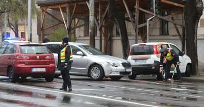 Elhajtott a helyszínről a balesetet okozó jármű