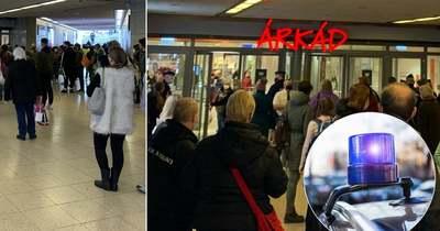 Most érkezett! Kiürítik az Árkád üzletközpontot – Fotók!