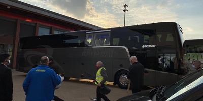 Megtámadták Liverpoolban a Real Madrid csapatbuszát - kép