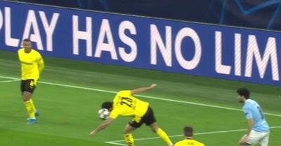 Videó: ezért kapott 11-est a Man. City a Dortmund ellen
