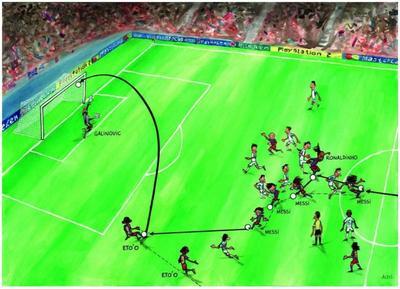 Mesék nagy gólokról: Samuel Eto'o a Panathinaikosz ellen