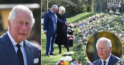 Könnyes búcsú – szívszorító videó mutatja be, ahogy Károly herceg siratja édesapját