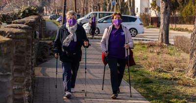 Két hónap alatt tették meg a csaknem 2600 kilométeres távot a tihanyi nyugdíjasok