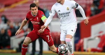 Kép: a Real-játékos ezzel a sérüléssel is remekelt az Anfielden