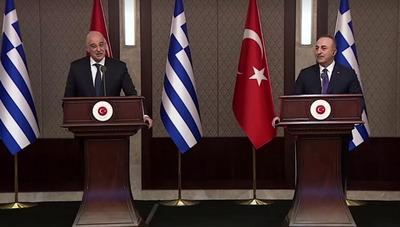 Elszabadultak az indulatok a görög külügyminiszter ankarai sajtótájékoztatóján