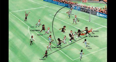 Mesék nagy gólokról: Giovani Dos Santos az USA ellen
