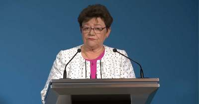 Müller Cecília fontos szabályokra hívta fel az iskolás gyerekek figyelmét