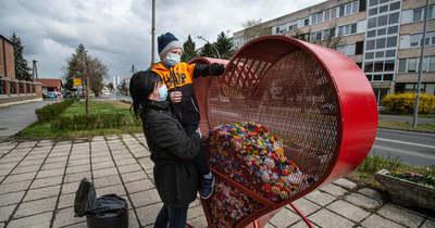 Összefogott a város: kupakgyűjtéssel segítenek a rimóci SMA-s kislánynak