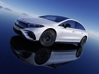 Az új villany-Mercedes messzebb jut egy töltéssel, mint a Teslák