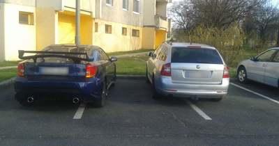 Így parkoltok ti – Veszprém megyében
