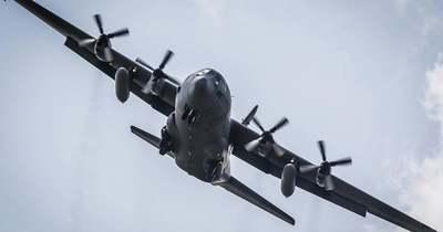 Veszprém, Várpalota, Hajmáskér térségében gyakorlatoznak a pilóták