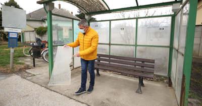 Szkanderpárbajra hívja a vandálokat a polgármester