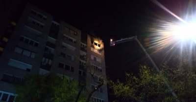 Tűz van egy szolnoki lakásban