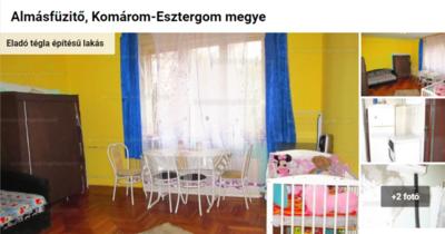 Megtaláltuk Komárom-Esztergom legolcsóbb lakását: 5,69 millióért vihető