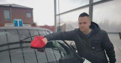 Bízik a jövő heti startban a megyei autósoktató