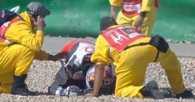 MotoGP: hatalmas esés a szabadedzésen! – videó