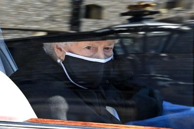 Így érkezett II. Erzsébet férje, Fülöp herceg temetésére
