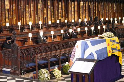 Képek Fülöp herceg temetéséről