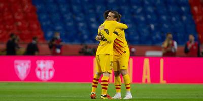 A Barcelona nyerte a Spanyol Kupát, Messi két gólt rúgott - videó