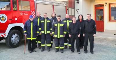 Több tűzoltó is helyben dolgozik, mindig akad egy csapat, amely azonnal riasztható Szentpéterfán