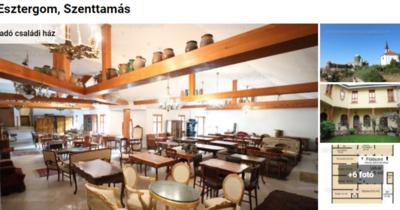 Török kori fürdő, erődélmény félmilliárdért: ez Komárom-Esztergom legdrágább háza