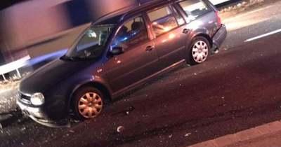Döbbenetes helyszíni fotókon az M1-esen történt baleset