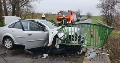 Durva: a híd pillérének ütközött egy autó Szilvásvárad és Nagyvisnyó között