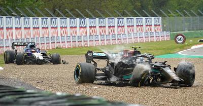 F1: nincs büntetés Bottas és Russell hatalmas ütközése után