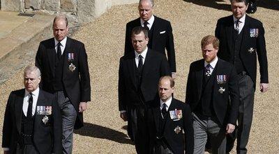 Kiderült a szomorú igazság: ezért nem állt egymás mellett Harry és Vilmos nagyapjuk temetésén