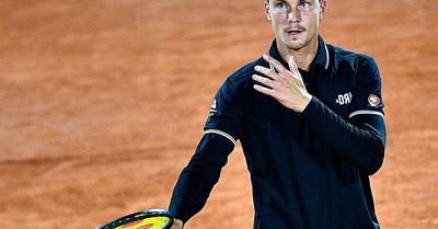 Tenisz: Fucsovics Márton visszalépett a belgrádi versenytől