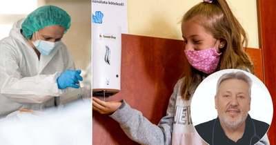 Dr. Bense Tamás gyerekorvos: Bármennyire is velünk van már ez a vírus több mint egy éve, minden hónapban új arcát mutatja