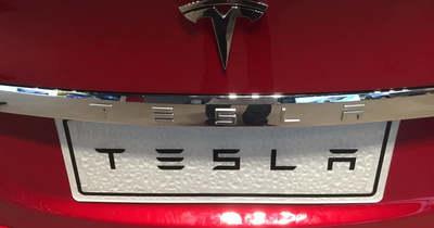 Önvezető Tesla ütközött fának