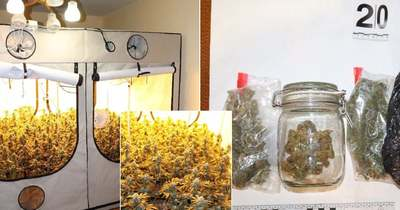 """Döbbenetes! Így néz ki egy """"házi drogüzem"""" egy XI. kerületi panelházban – Fotók!"""
