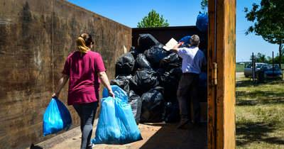 Felfüggesztik a veszélyes anyaggal szennyezett csomagolási hulladékok fogadását 43 Győr környéki hulladékudvarban