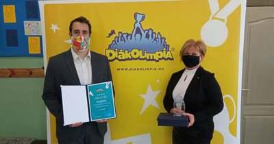 A Dencsháza-Hobol Általános Iskola is díjazott lett a tavalyi Diákolimpián