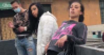 Félelmetes látvány: Kelenföldön dülöngélnek a zombivá vált lányok – Videó!