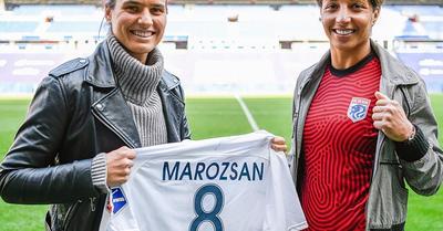 Női foci: Marozsán az Egyesült Államokban folytatja – hivatalos