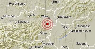 Ausztriában 4,3-as erősségű földrengés volt Bécsújhely térségében