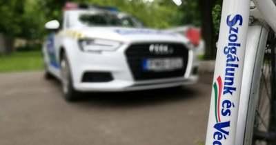Sűrű napot zártak hétfőn megyénk rendőrei