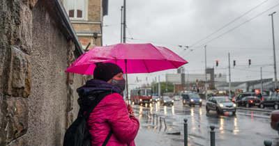 Dörgéssel csapott le a vihar a fővárosra, és még nincs vége