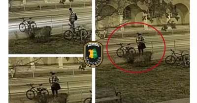 Biciklivel ment kerékpárt lopni – Felismeri a férfit?