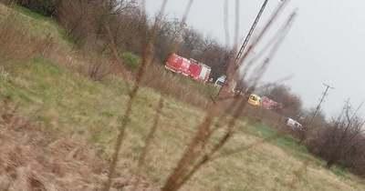 Traktorral ütközött össze a vonat Újfehértónál