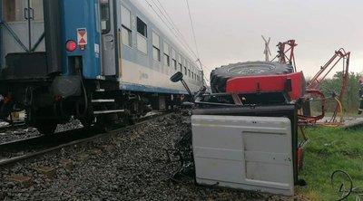 Felkavaró fotó: így siklott ki a vonat az újfehértói halálos balesetben