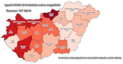 Ismét emelkedőben az újonnan regisztrált fertőzöttek száma Békésben