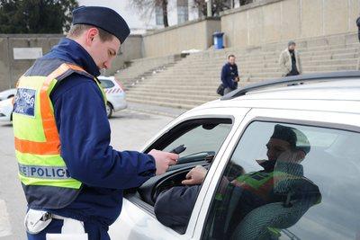Kora reggel megállítottak egy autóst Edelényben, a rendőrök se hitték el, amit a szonda mutatott