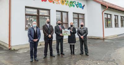 Tornaszobát is kap a Gárdonyi Géza és Szegi Suli Általános Iskola